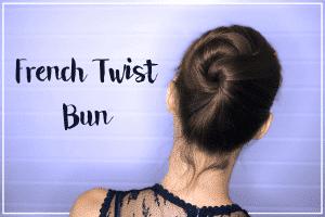 Foto French Twist Bun - Tutorial simpele knot