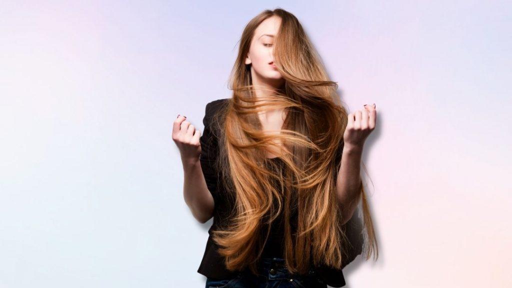 Hoe groei je lang haar