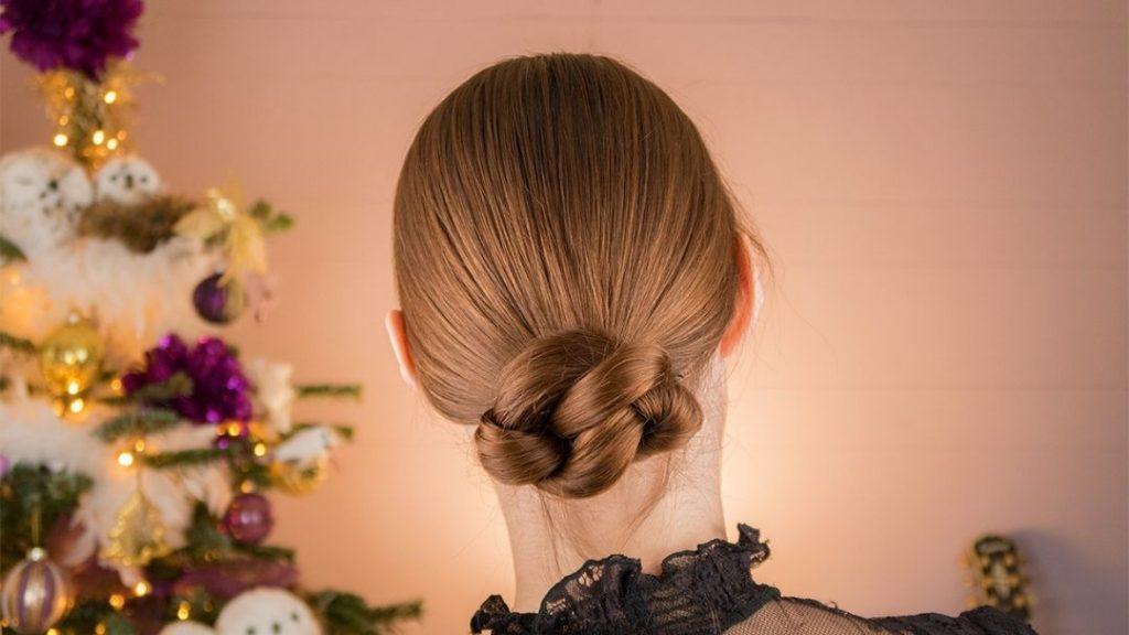 Hoe maak je een simpele elegante knot