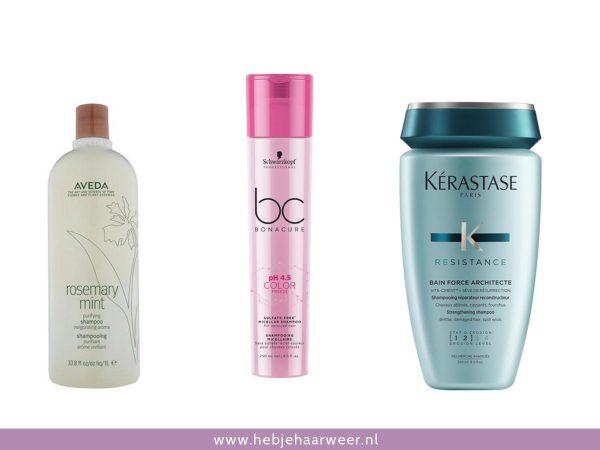 pH huidneutrale shampoos met pH-waarde onder 6