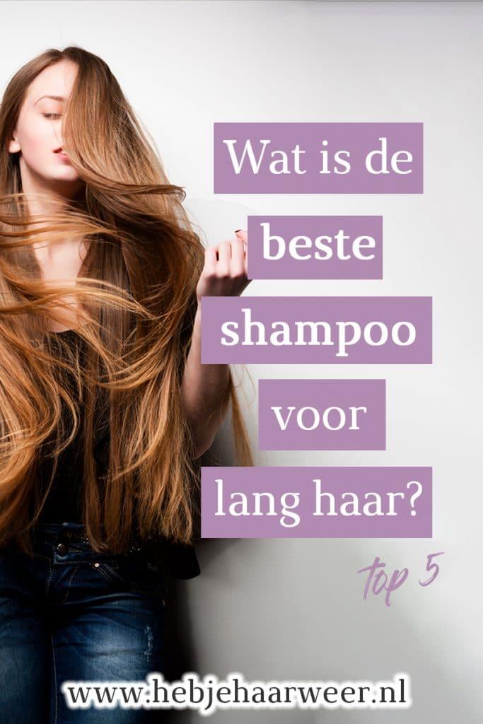 Dit zijn de beste shampoos voor lang haar