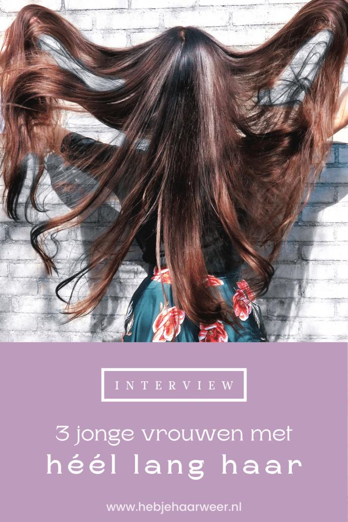 Hoe is het om heel lang haar te hebben? Drie vrouwen met haar tot op hun stuitje delen hun ervaringen én beste tips