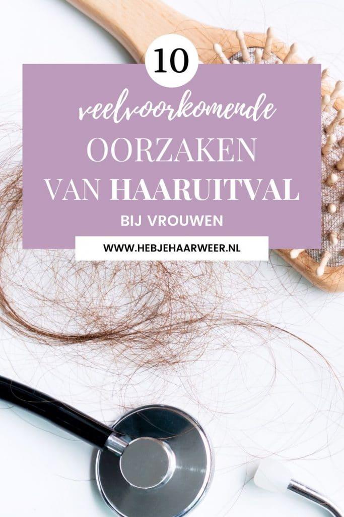 Last van overmatig haarverlies? Dit zijn 10 oorzaken van haaruitval bij vrouwen die veel voorkomen.