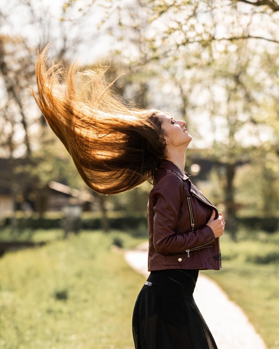 Lang haar haarverzorging
