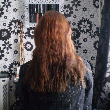 Mijn haar voordat ik het lang liet groeien