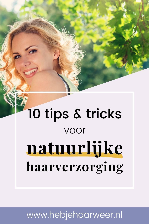 Welke natuurlijke producten zijn goed voor je haar? Ontdek hoe je op natuurlijke wijze voor je haar zorgt met 10 tips voor natuurlijke haarverzorging.