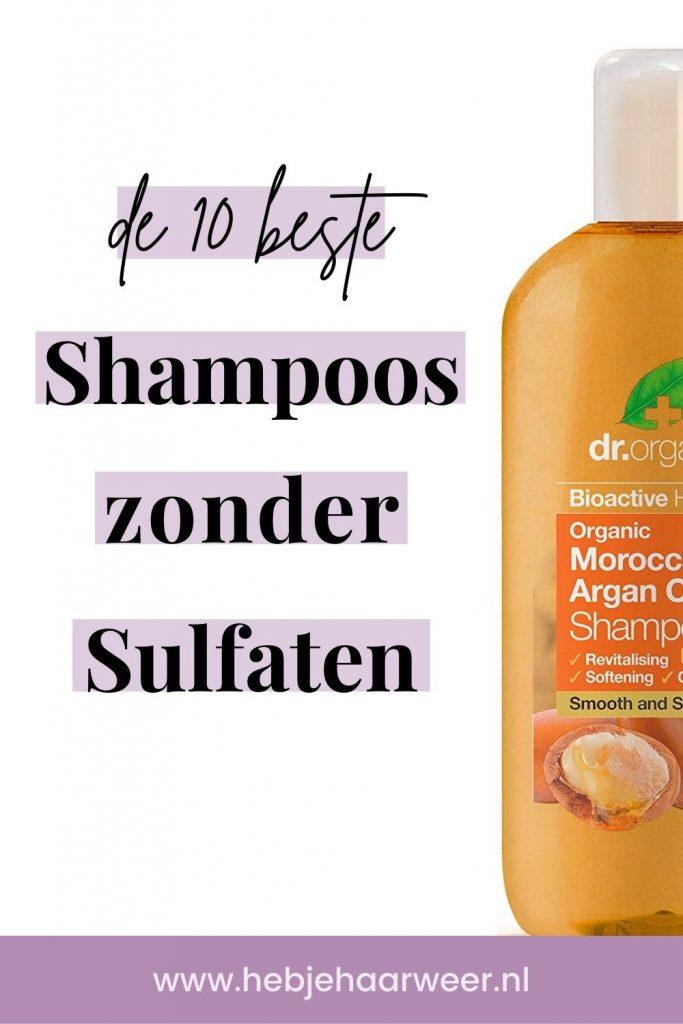 Dit zijn de 10 beste shampoos zonder sulfaten