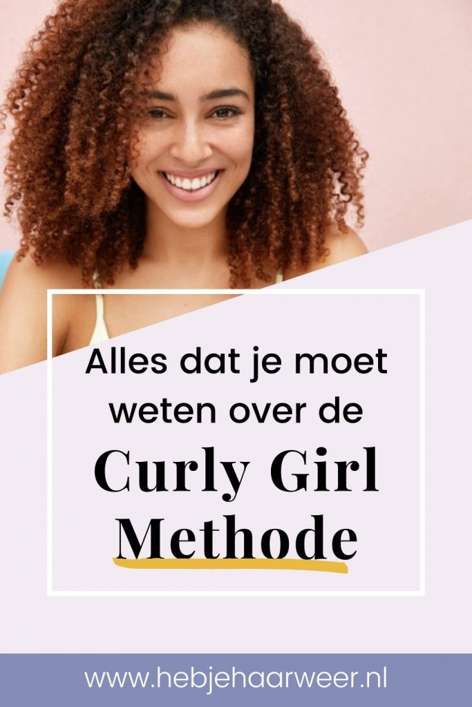 Alles dat je moet weten over de Curly Girl Methode